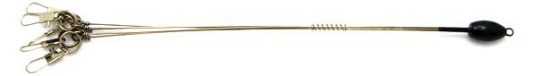 Elite Tungsten Finesse 5-Arm Umbrella Rig